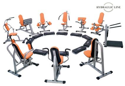 Fitness-Trainingszirkel