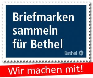 Briefmarken sammeln für Bethel